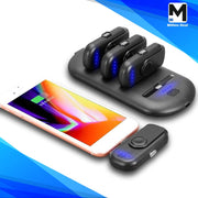 Mini Wireless Magnetic Finger Power Bank with Data Cable