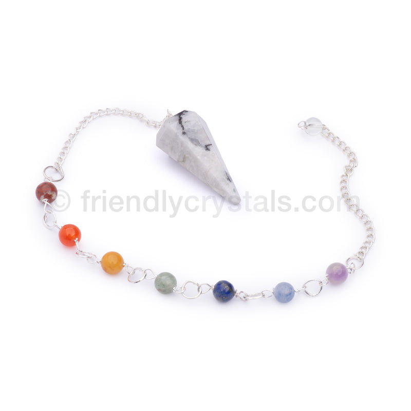 20 Assorted Stones Pack - Chakra Pendulums Faceted