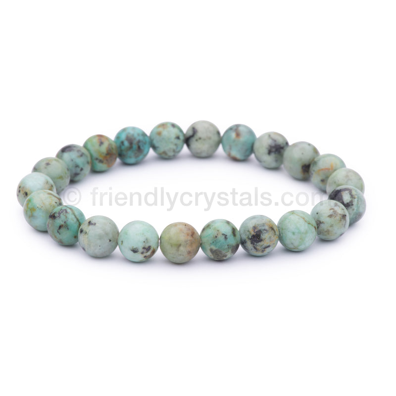 African Turquoise Power Bracelet