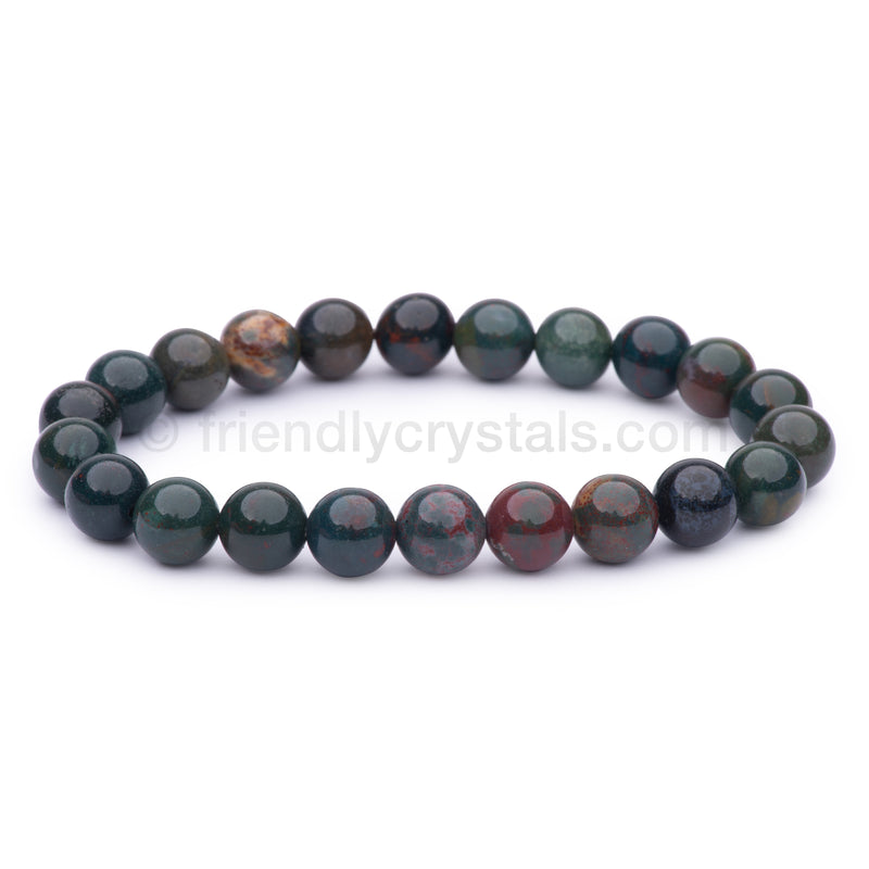 Bloodstone Power Bracelet