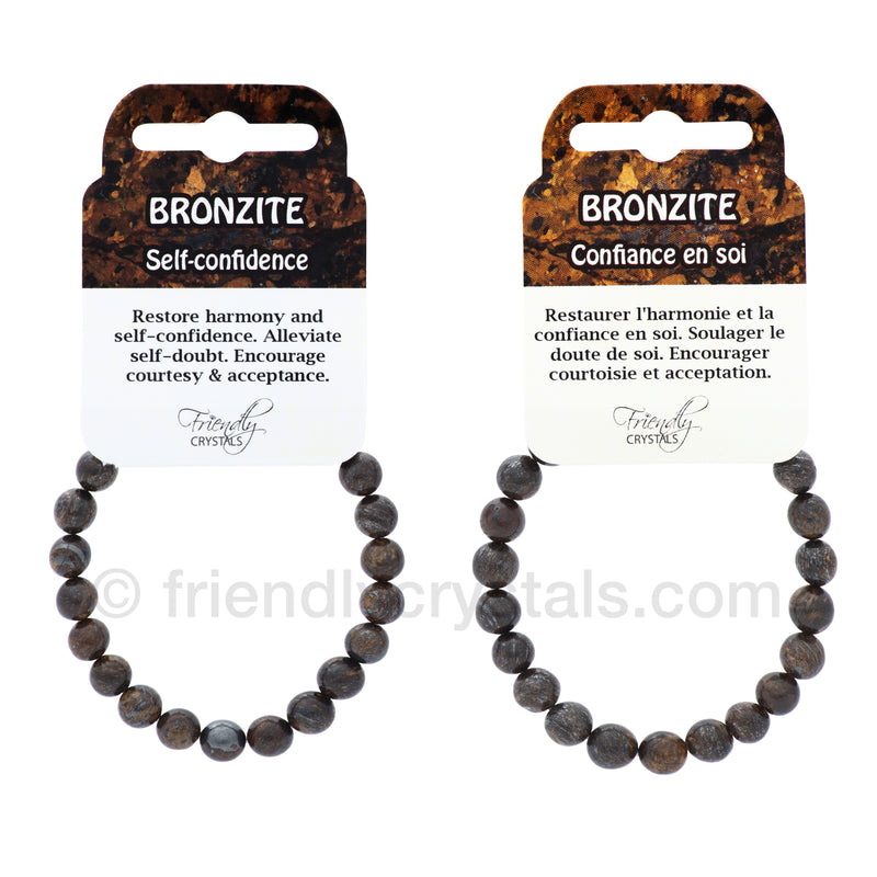 Bronzite Power Bracelet