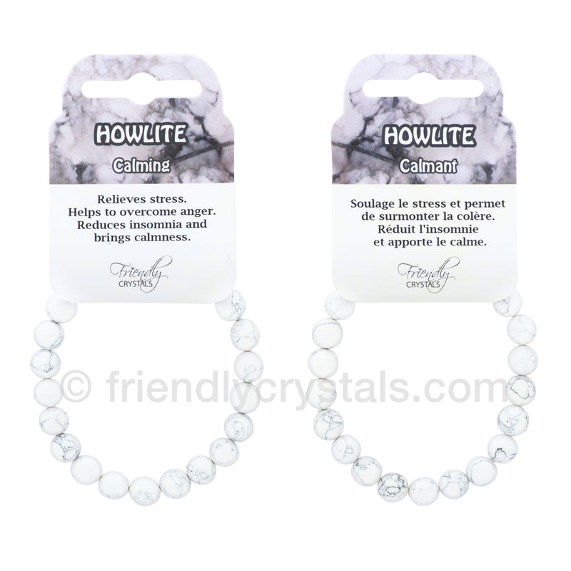 Howlite Power Bracelet