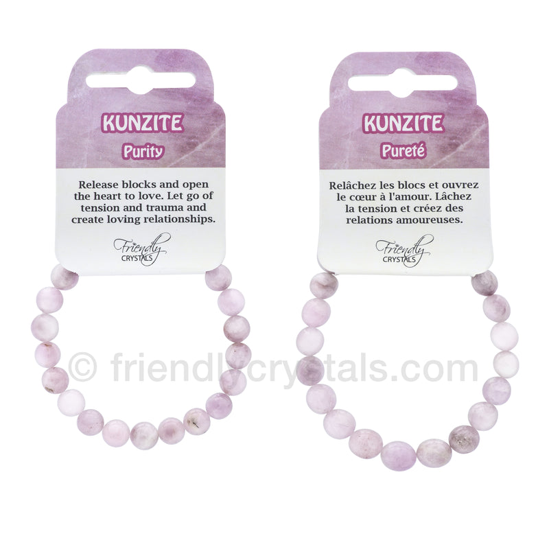 Kunzite Power Bracelet