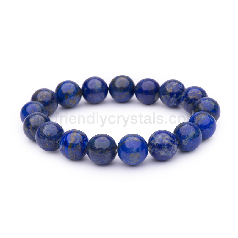 Lapis Large Power Bracelet (12mm)
