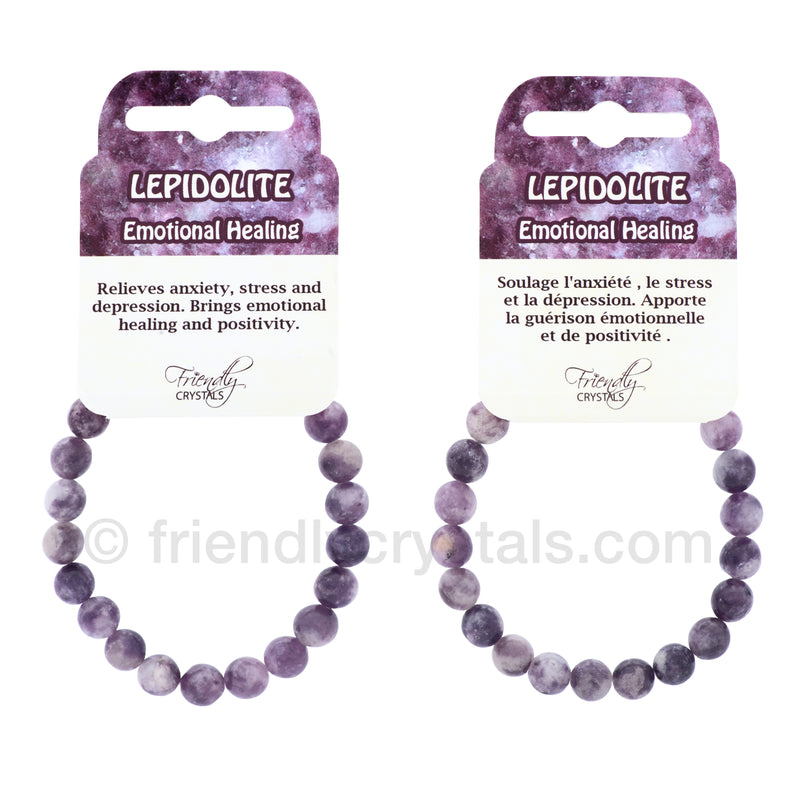 Lepidolite Power Bracelet