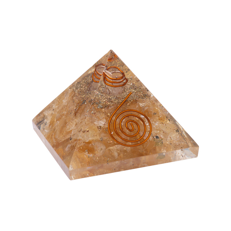 Citrine Pyramid 55-60 mm