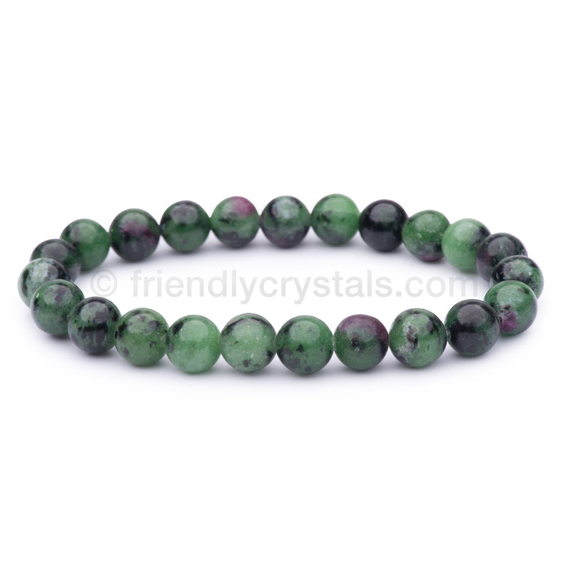 Ruby in Fuchsite Power Bracelet