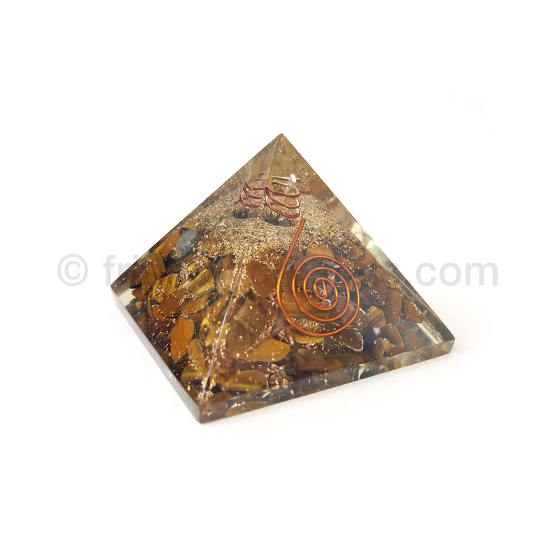 Tiger Eye Pyramid 55-60 mm