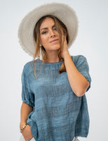 Shop Linen Tops, Blouses, Pants & Dresses