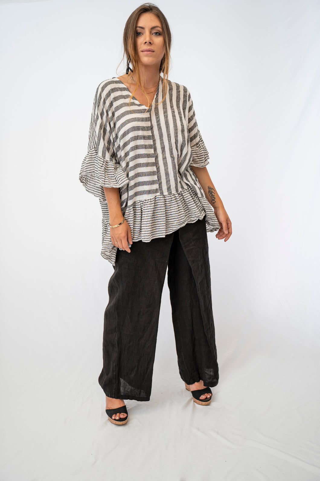 Ultra Flirty Mix N' Match Stripe Tunic