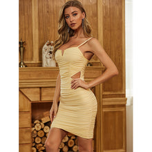 Load image into Gallery viewer, Make It Rain - Mini Bodycon Dress