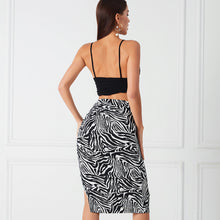 Load image into Gallery viewer, Night & Music - Midi Skirt
