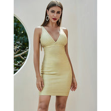 Load image into Gallery viewer, Waiting for Tonight - Mini Bodycon Dress