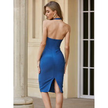 Load image into Gallery viewer, Keep In The Dark - Midi Bodycon Dress