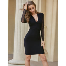 Load image into Gallery viewer, The Rhythm Of The Night - Mini Bodycon Dress