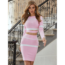 Load image into Gallery viewer, Sweet Angel - Crop Top & Midi Skirt Set