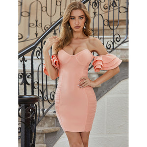 Rising Up - Mini Bodycon Dress