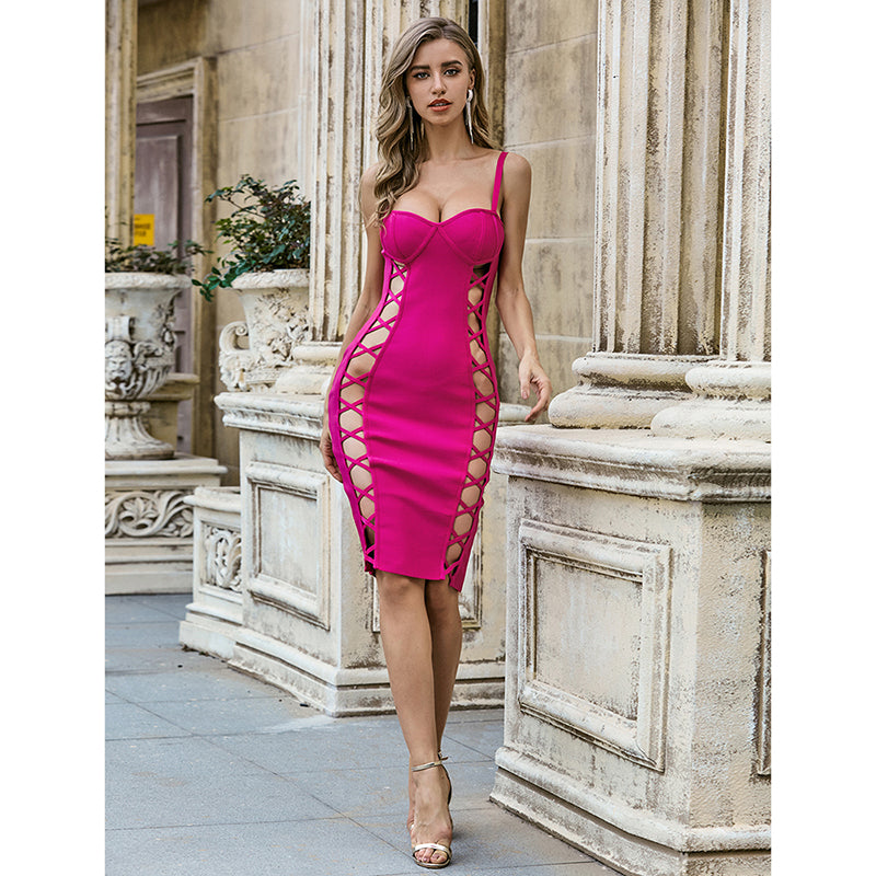 Deep In A Dream - Midi Bodycon Dress
