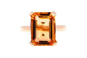 Citrine, a November gemstone.