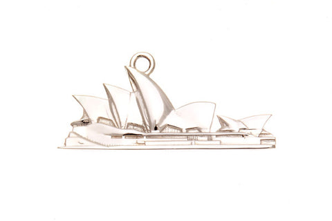 Silver Pendant/Charm With Sydney Opera House