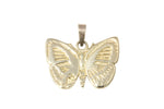 18ct Pendant In Yellow Gold With Small Danis Danis Butterfly
