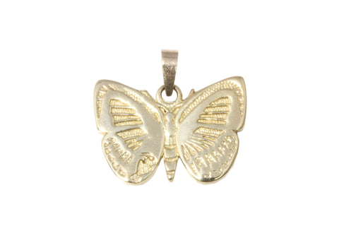 9ct Pendant In Yellow Gold With Small Danis Danis Butterfly