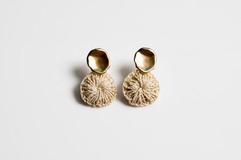 Bilum & Bilas Gold Amaki Earrings