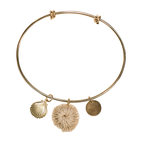 Bilum & Bilas Bertha Charm Bangle