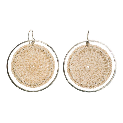 Bilum & Bilas Saturn Earrings