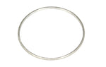 Silver Diamond Cut Finish Bangle