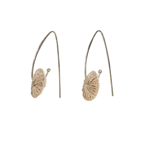 Bilum & Bilas Silver Nawa Earrings