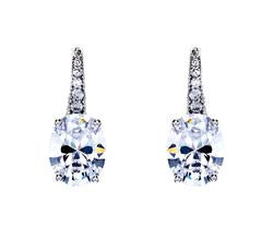 Sybella Earrings With Rhodium Plate & Cubic Zirconia