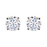 Sybella Earring With Sterling Silver Rhodium Plate & Cubic Zirconia