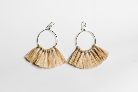 Bilum & Bilas Silver Lumi Earrings