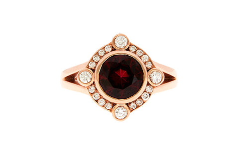 9ct_rose_gold_ring_with_garnet_and_diamond_julescollins_jewellery
