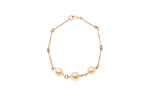 9ct Rose Gold Milne Bay Pearl Bracelet