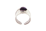 18ct Ring In White Gold With Iolite