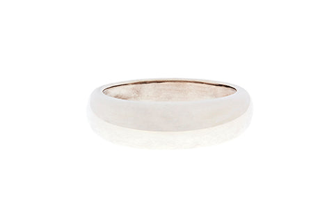 Silver Ring With 6mm Dome