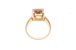 18ct Yellow Gold Imperial Topaz Ring