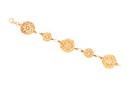 18ct Bracelet In Yellow Gold With PNG Buka Basket Designs