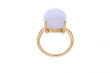 18ct Yellow Gold Chalcedony Ring