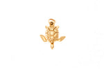 18ct Pendant In Yellow Gold With Turtle