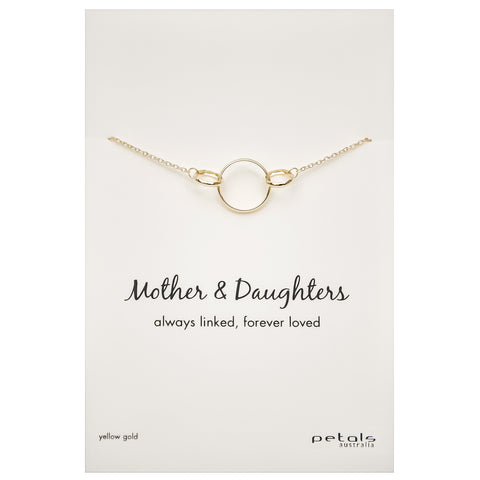 petals_yellow_gold_plated_mother_daughters_necklace