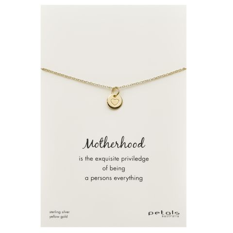 Petals_silver_yellow_gold_motherhood_necklace