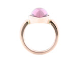 18ct Ring In Rose Gold With Pink Tourmaline