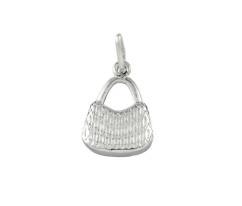 18ct Pendant In White Gold With PNG Bilum