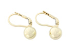 9ct Earrings In Yellow Gold With Ball