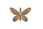 9ct Pendant In Rose Gold With Birdwing Butterfly