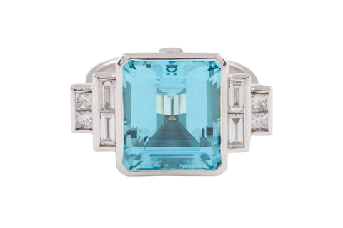 AQUAMARINE_AND_DIAMOND_DECO_RING
