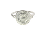 Silver Ring With 2 Star Goroka Basket Design